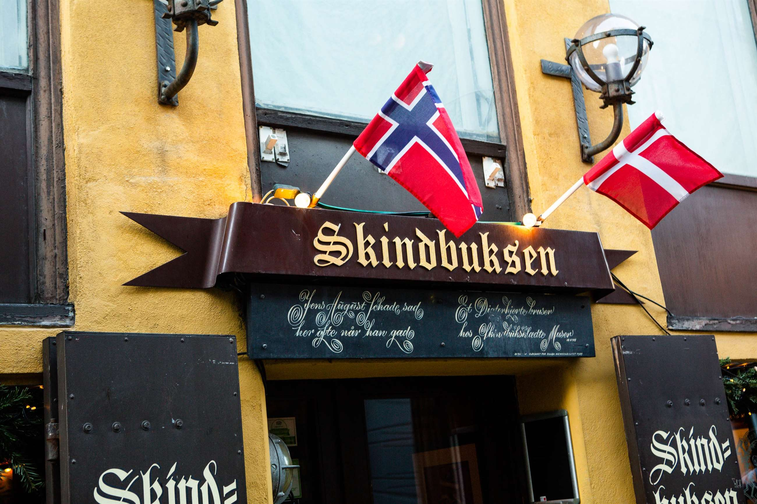 Skindbuksens facade